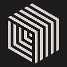 Hexa-cube by geekchic  tees