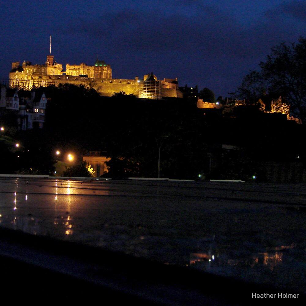Edinburgh castle by Heather Holmer