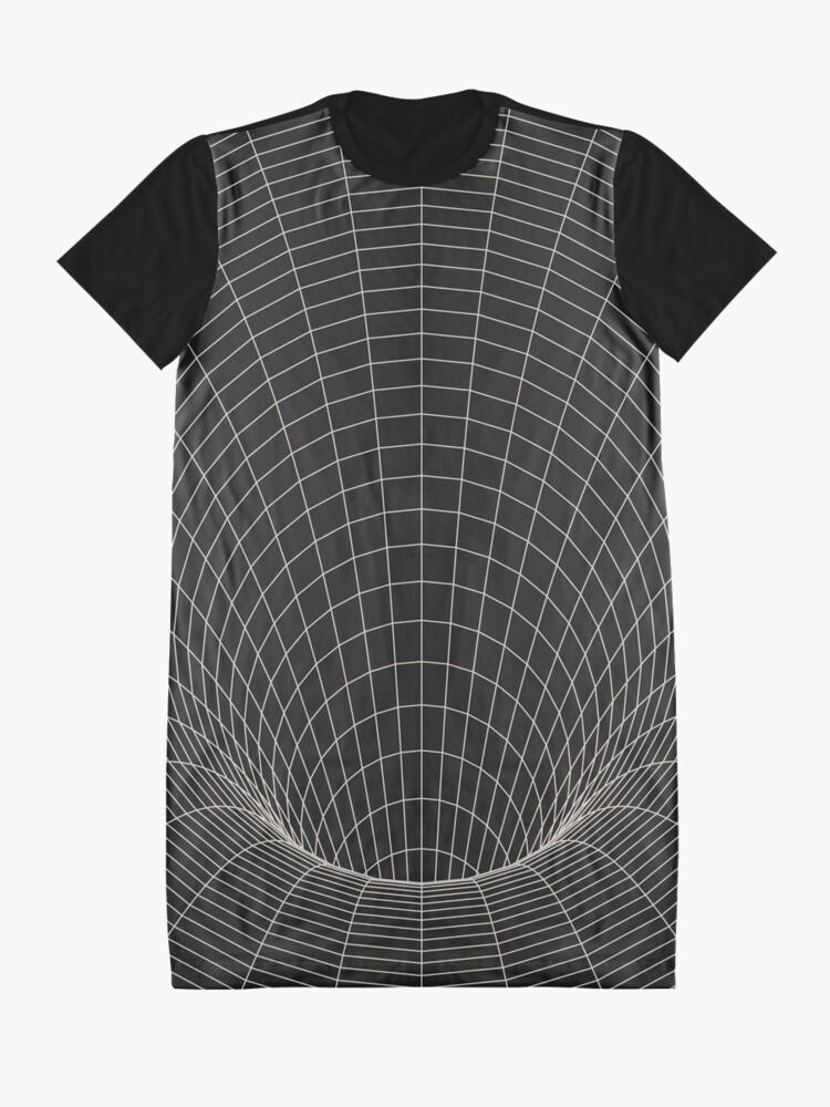 Alternative Ansicht von Ereignishorizont T-Shirt Kleid
