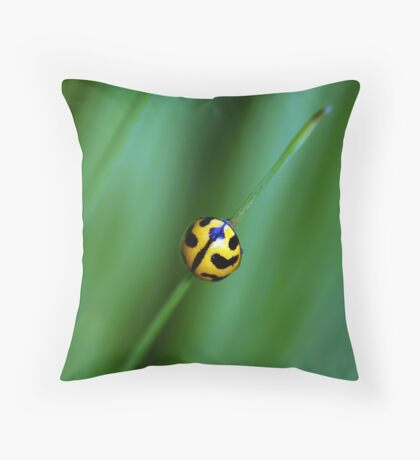 Nature's Tightrope Throw Pillow