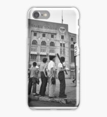 BOYS STARING AT YANKEE STADIUM iPhone Case/Skin