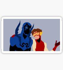 Bluepulse Minimalism Sticker