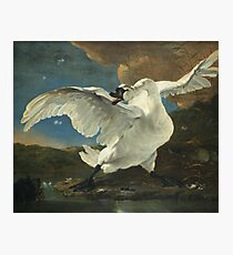 Jan Asselyn - The Threatened Swan Photographic Print