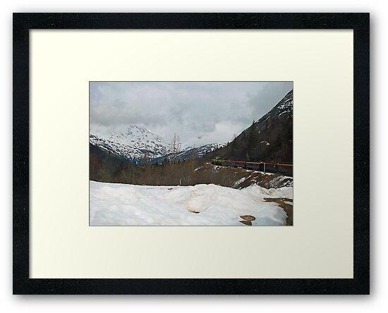 Mountain Train by Judith Winde