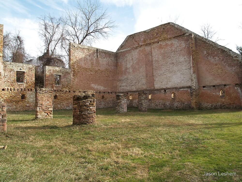 Ancient Barn by Jason Leshem