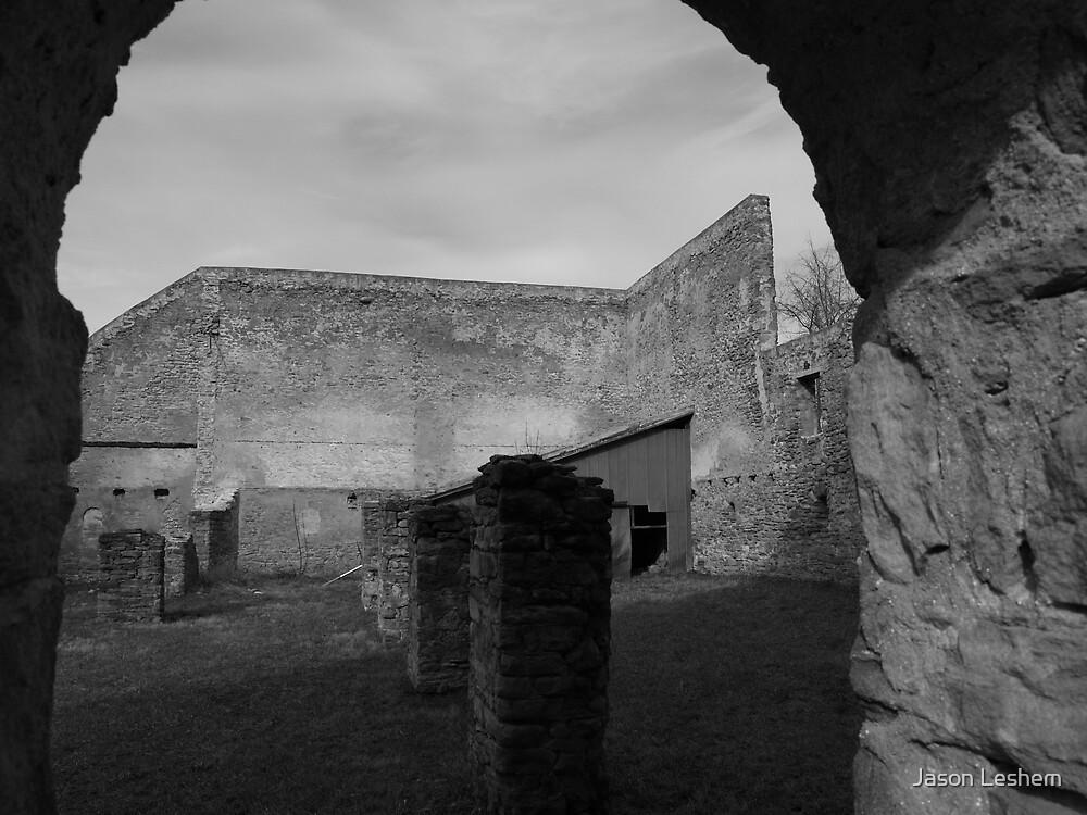 Barn Ruins by Jason Leshem