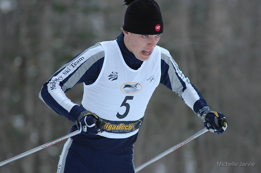 Ski Race 5 by Michelle Jarvie