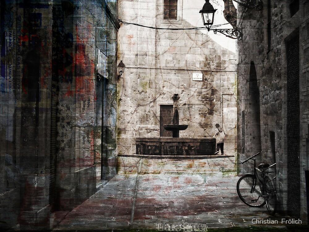 Barcelona Old City 1 by Christian  Frölich