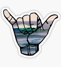 Shaka Waves Sticker
