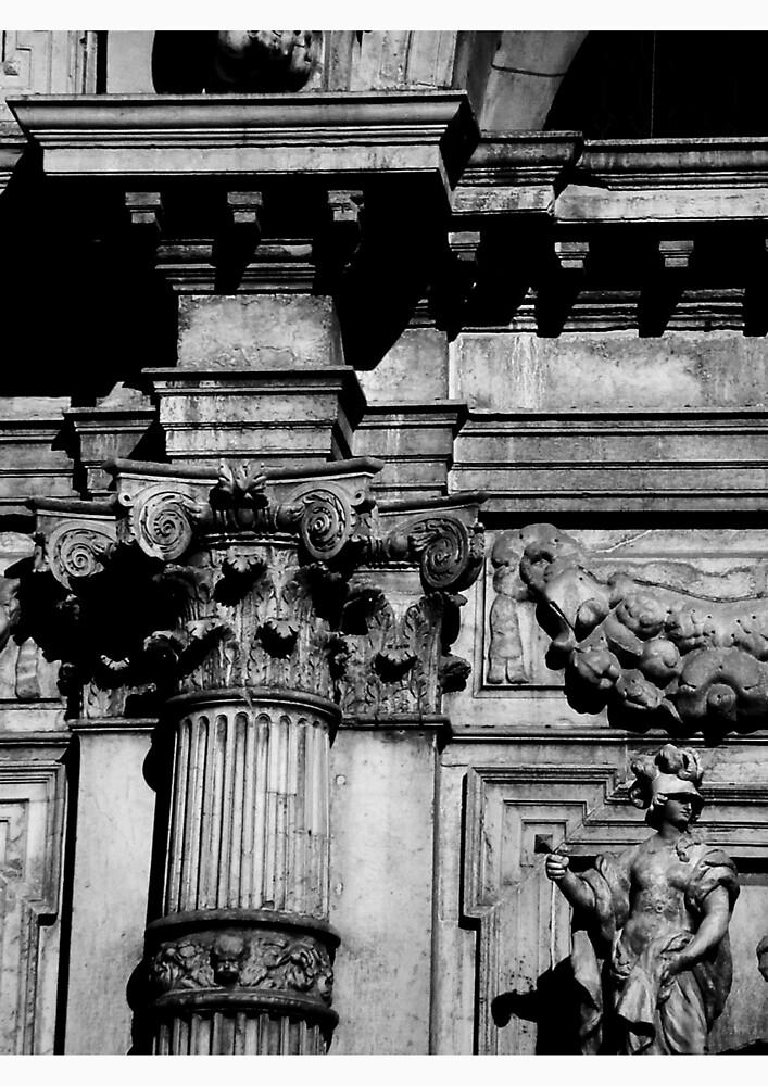 Church Facade, Venice by Tristen Haines