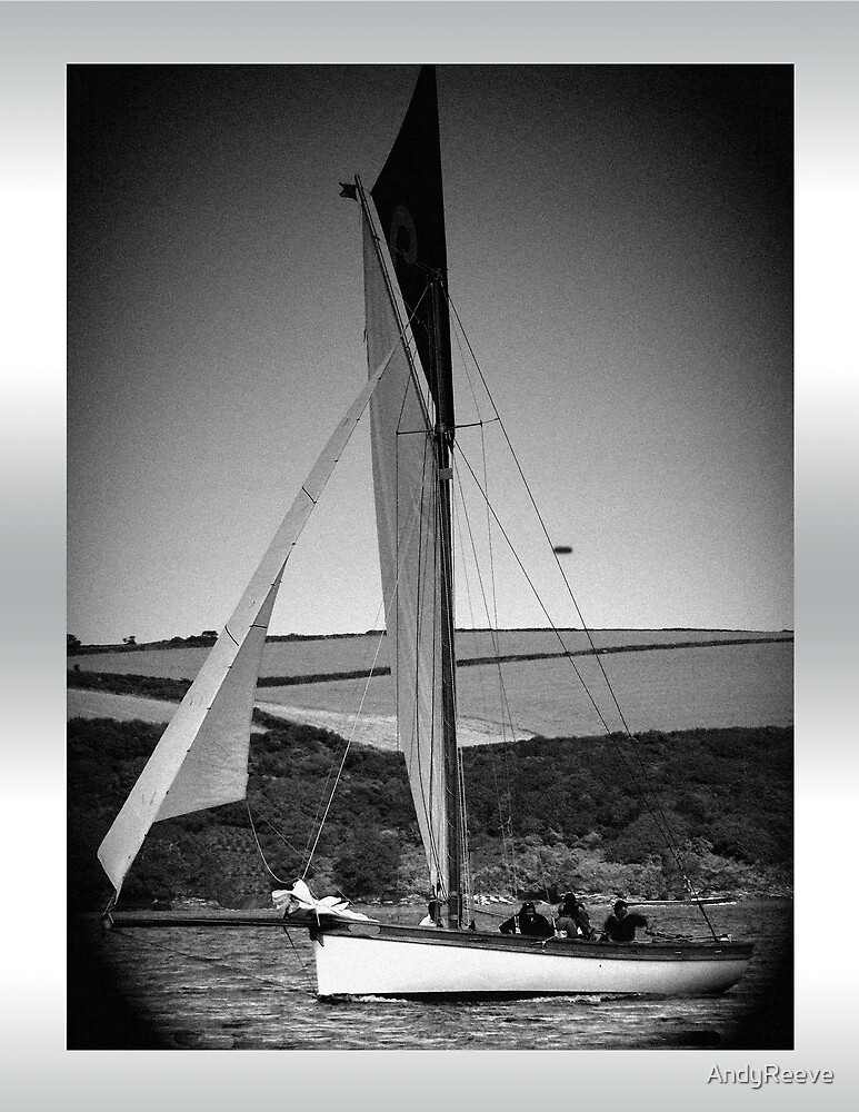 Traditional Cornish Sailing Vessel by AndyReeve