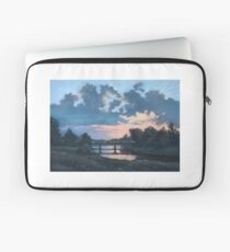 Evening over Varta river Laptop Sleeve