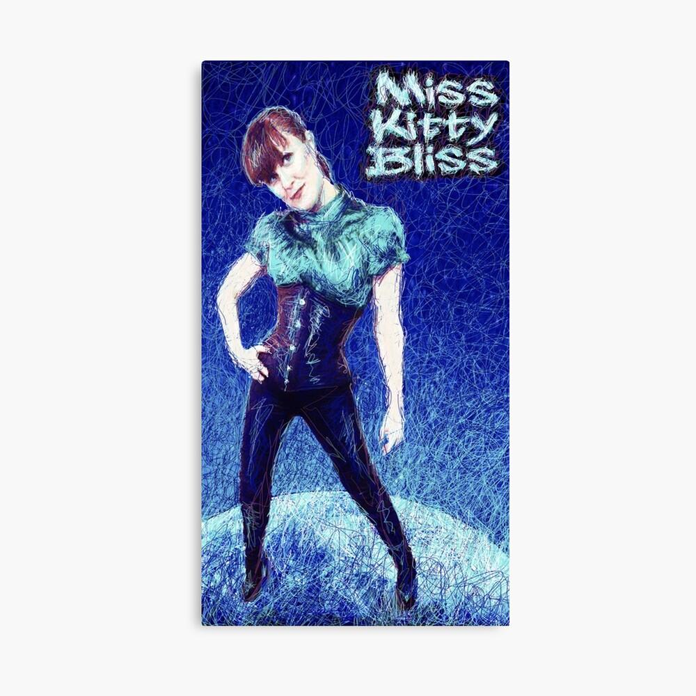 Miss Kitty Bliss, Supervillain, 2013 Canvas Print