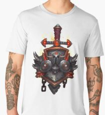 Warrior Crest Men's Premium T-Shirt