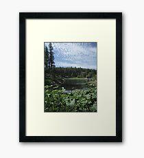 Goldwater Lake, Prescott, Arizona Framed Print