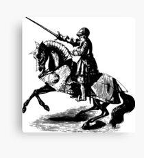 Sword Knight Canvas Print