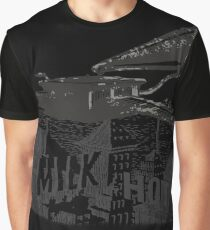 in the aeroplane over the sea Graphic T-Shirt