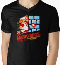 Super Mario Bros. NES Men's V-Neck T-Shirt