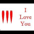 I loveYou by Flyinghorse