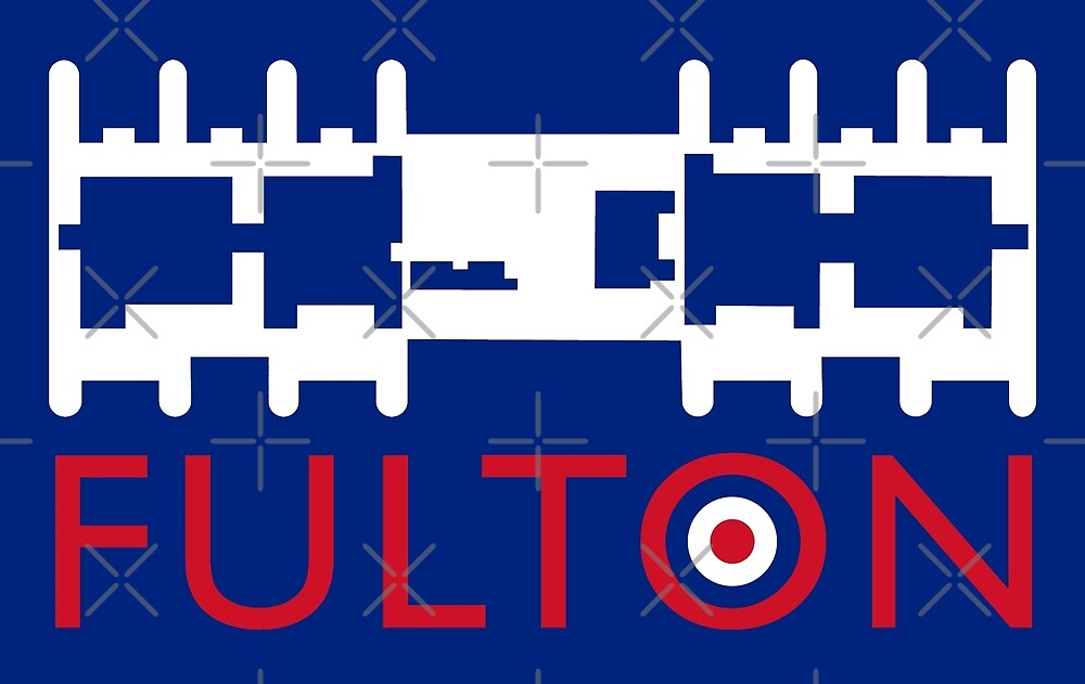 Fulton Block (with roundel) by Tez Watson