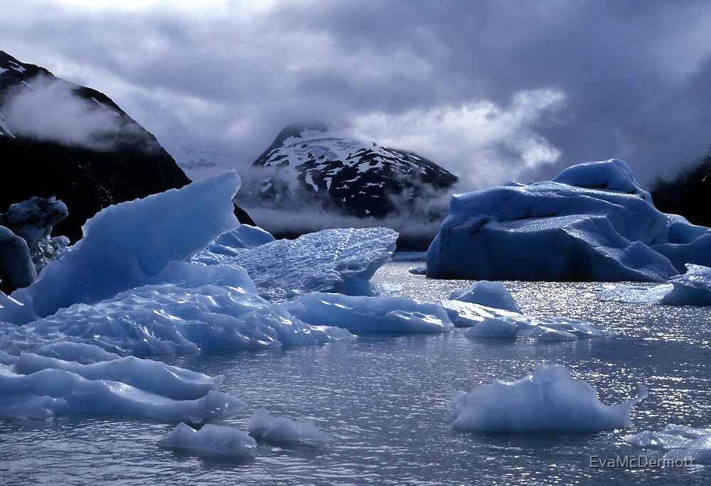 Portage Glacier by EvaMcDermott