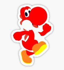 Red Yoshi Sticker