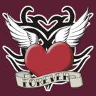 Tribal Heart Tattoo by RubyFox