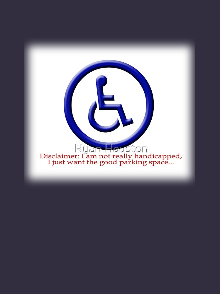 Not Really Handicapped by photoforyou
