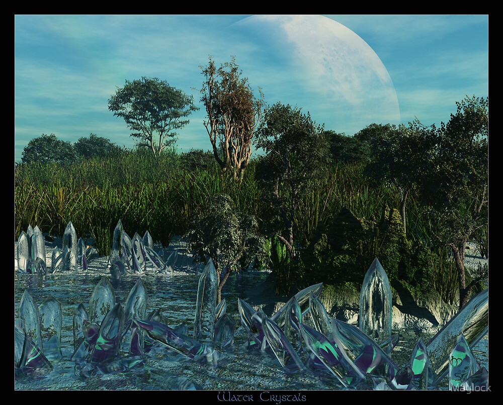 Water Crystals by Maylock