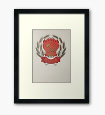 Coat  arms   Russian Federation Framed Print
