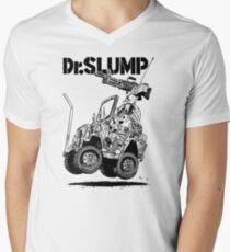 Arale Jeep Mens V-Neck T-Shirt