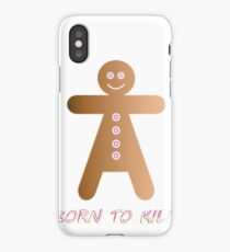 lady cookie humorous design iPhone Case/Skin