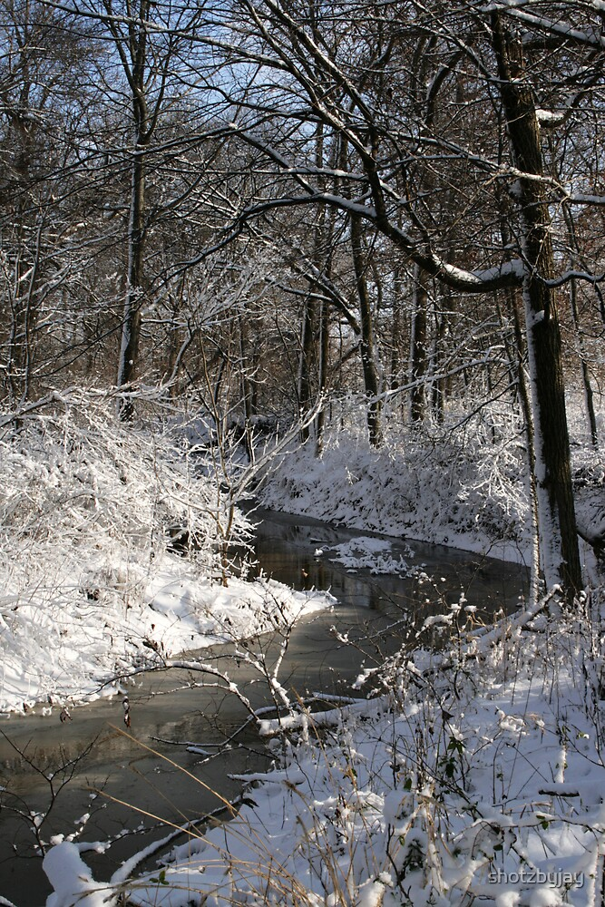 Snowy Prairie Creek  by shotzbyjay