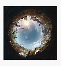 """Skyrim - """"A Mudcrab and Solitude"""" Photographic Print"""