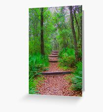 The Way Up Greeting Card