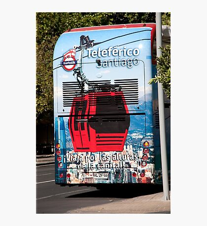 Bus Art Photographic Print