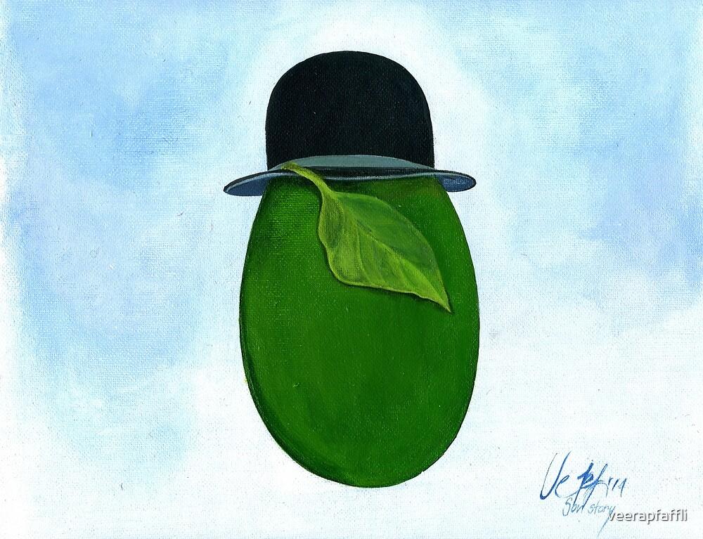 René Magritte egg Son Story by veerapfaffli