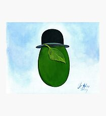 René Magritte egg Son Story Photographic Print