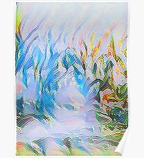 Spring Riot of Color Abstract Impressionism  Poster