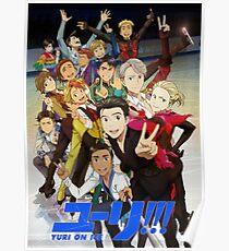 Yuri on Ice: Character Selfie Poster