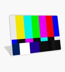 SMPTE Color Bars Laptop Skin