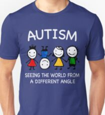 Autism seeing the world T-Shirt