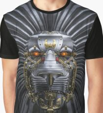 Lion Robot Graphic T-Shirt
