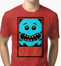 The Meeseeks OBEY Tri-blend T-Shirt
