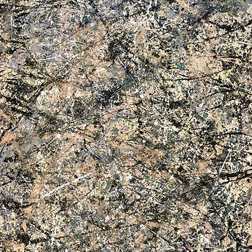 Jackson Pollock, Lavender Mist, 1950 by TOMSREDBUBBLE