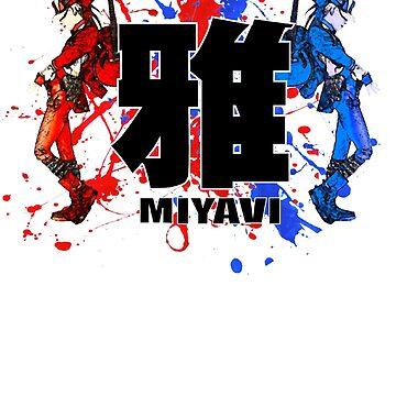 Colours Of Miyavi by Juka08