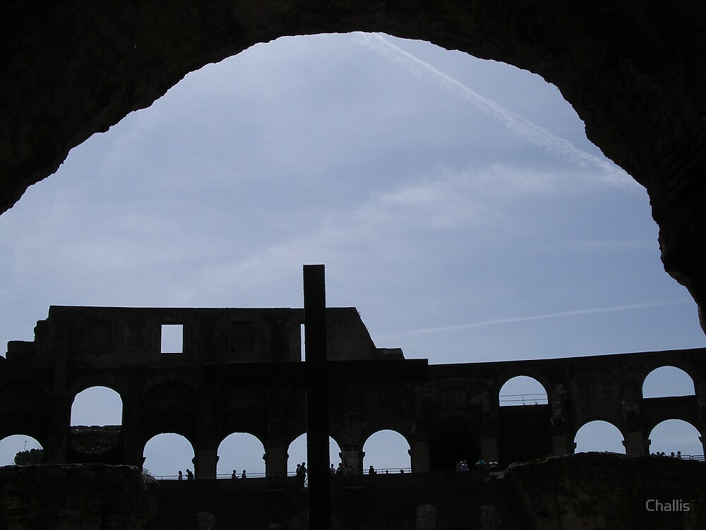 Roman Colosseum by Challis