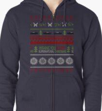 Übernatürlicher Weihnachts-Pullover Kapuzenjacke