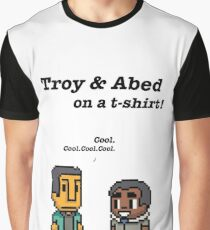 Troy and Abed · Community · TV show Graphic T-Shirt