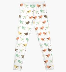 Assorted birds pattern Leggings